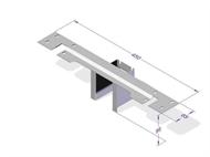 Ravni nastavak za spajanje više stolova